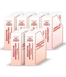 Boksy - Komplet na Biuletyn Informacyjny z dodatkiem Serwis Podatkowy