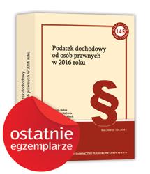 Publikacje książkowe - Biblioteka Podatnika - edycja 2016