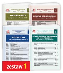 Pakiet 4 Ustaw - zestaw 1
