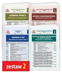 Pakiet 4 Ustaw - zestaw 2