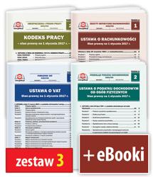 Pakiet 4 Ustaw + 4 eBooki - zestaw 3