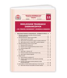 Rozliczanie transakcji zagranicznych - VAT, podatek dochodowy i ewidencja księgowa