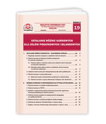 Ustalanie różnic kursowych dla celów podatkowych i bilansowych