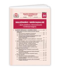 Należności nieściągalne - ujęcie podatkowe, dokumentowanie i ewidencja księgowa