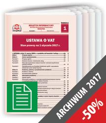 Dodatki do Czasopism 2017 w formie papierowej