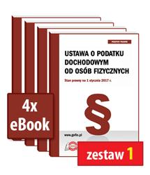 Pakiet 4 eBooków (publikacji elektronicznych)