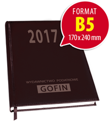 Kalendarz książkowy na 2017 rok