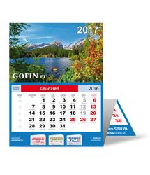 Kalendarz ścienny (trójdzielny) na 2017 rok