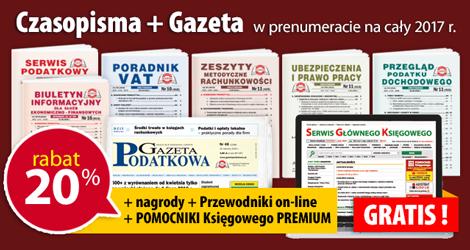 Wszystkie Czasopisma i Gazeta w prenumeracie na cały 2017 rok - Komplet promocyjny nr 1