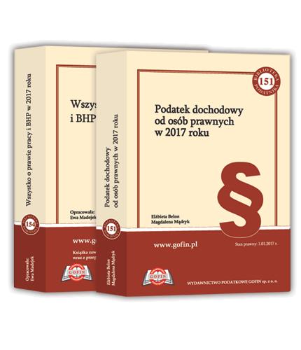 Jedna książka z cyklu Biblioteka Podatnika 2017