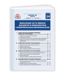 Rozliczanie VAT w obrocie krajowym w orzecznictwie i interpretacjach indywidualnych