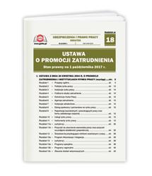 Ustawa o promocji zatrudnienia. Stan prawny na 1 października 2017 r.