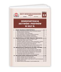 Inwentaryzacja aktywów i pasywów w 2017 r.