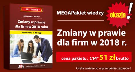 """Zmiany w prawie dla firm w 2018 r.""""."""