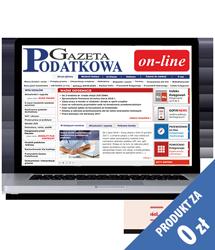 Gazeta Podatkowa on-line - wersja demo dostęp za 0 zł