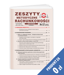Zeszyty Metodyczne Rachunkowości - Egzemplarz okazowy za 0 zł