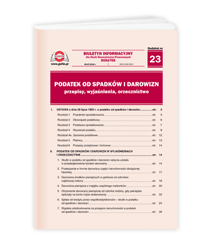 Podatek od spadków i darowizn - przepisy, wyjaśnienia, orzecznictwo