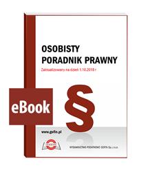 Osobisty poradnik prawny - eBook