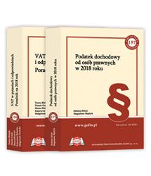Jedna książka z cyklu Biblioteka Podatnika 2018