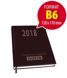 Kalendarz książkowy na 2018 rok – kieszonkowy
