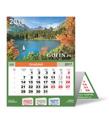 Kalendarz ścienny (trójdzielny) na 2018 rok