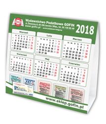 Kalendarz biurkowy na 2018 rok