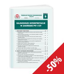 Najnowsze interpretacje w zakresie PIT i CIT