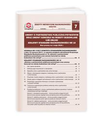Umowy o partnerstwie publiczno-prywatnym oraz umowy koncesji na roboty budowlane lub usługi. Krajowy Standard Rachunkowości NR 10. Stan prawny na 1 maja 2018 r.