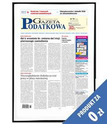 Gazeta Podatkowa - Egzemplarz okazowy za 0 zł