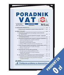 Poradnik VAT - Egzemplarz okazowy za 0 zł