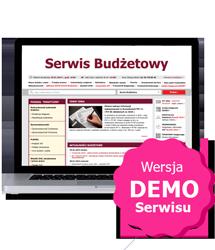 Serwis Budżetowy - 3-dniowy dostęp za 0 zł
