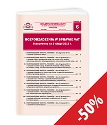 Rozporządzenia w sprawie VAT. Stan prawny na 1 lutego 2019 r.