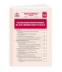 Najciekawsze rozstrzygnięcia MF, ZUS i resortu pracy w 2019 r.