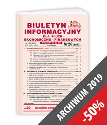 Biuletyn Informacyjny - Archiwum 2019