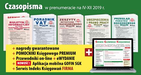 Wszystkie Czasopisma w prenumeracie na IV-XII 2019 rok - Komplet nr 2
