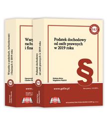 2 książki z cyklu Biblioteka Podatnika 2019