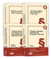 Publikacje książkowe - Biblioteka Podatnika - edycja 2019