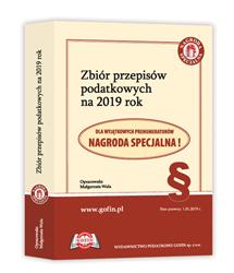 Zbiór przepisów podatkowych na 2019