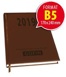 Kalendarz książkowy na 2019 rok