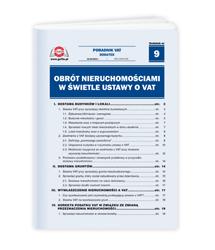 Obrót nieruchomościami w świetle ustawy o VAT