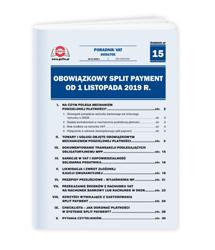 Obowiązkowy split payment od 1 listopada 2019 r.