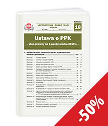 Ustawa o PPK - stan prawny na 1 października 2019 r.