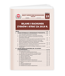 Bilans i rachunek zysków i strat za 2019 r.