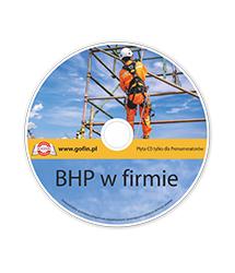 BHP w firmie - płyta CD