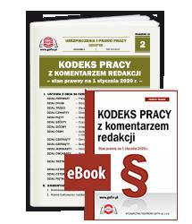Publikacja + eBook Kodeks pracy. Stan prawny na 1 stycznia 2020 r.