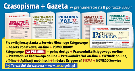 Wszystkie Czasopisma i Gazeta w prenumeracie na II półrocze 2020 rok - Komplet promocyjny nr 1
