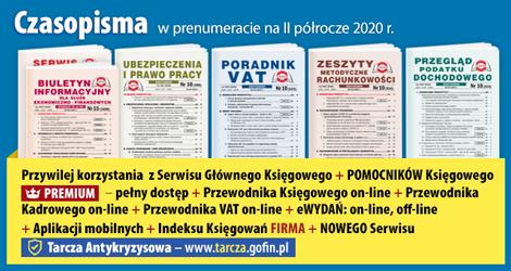 Wszystkie Czasopisma i Gazeta w prenumeracie na  II półrocze 2020 r. - Komplet promocyjny nr 2