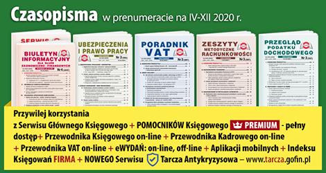 Wszystkie Czasopisma i Gazeta w prenumeracie na IV-XII 2020 rok - Komplet promocyjny nr 2
