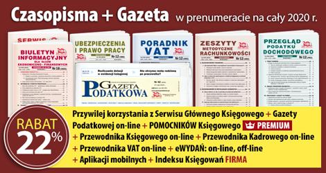 Wszystkie Czasopisma i Gazeta w prenumeracie na cały 2020 rok - Komplet promocyjny nr 1