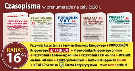 Wszystkie Czasopisma w prenumeracie na cały 2020 rok - Komplet promocyjny nr 2